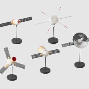 现代信号接收器3D模型【ID:435759589】