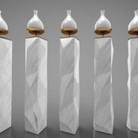 新中式风格装饰摆件3D模型【ID:244272539】
