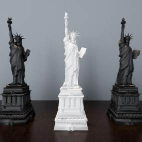现代自由女神像3D模型【ID:333743142】