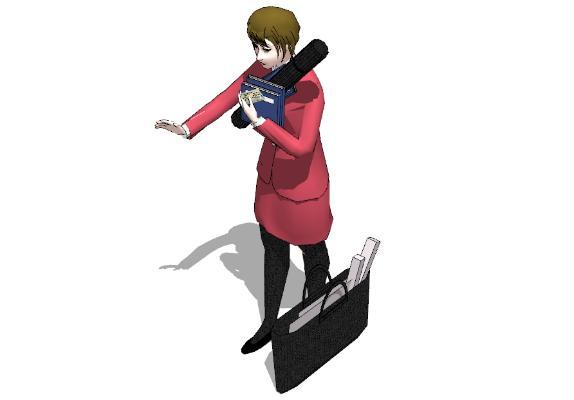 現代人物SU模型【ID:151648753】