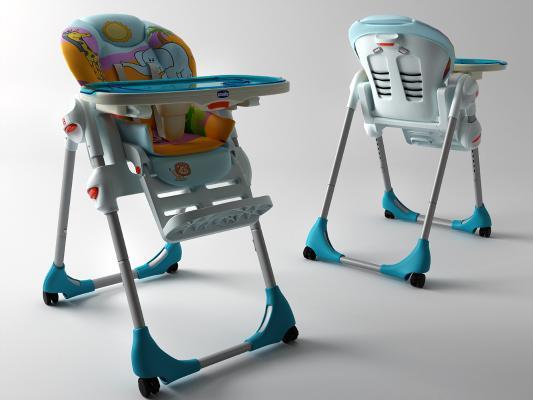 現代嬰兒椅3D模型【ID:746705703】