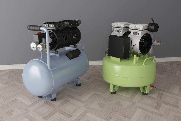 現代空氣壓縮機3D模型【ID:431069382】