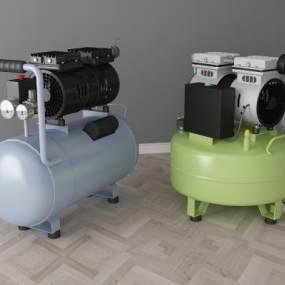 现代空气压缩机3D模型【ID:431069382】