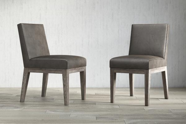 美式餐椅3D模型【ID:733001118】
