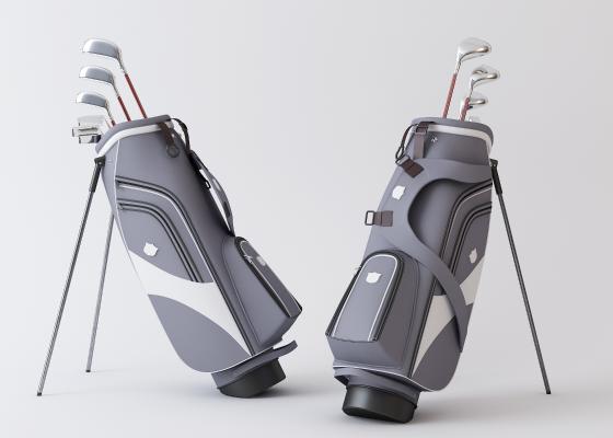现代健身器材3D模型【ID:446936448】