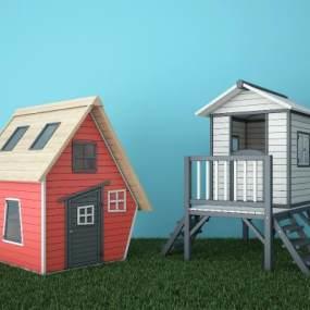 现代移动房板房阳光房3D模型【ID:135856364】