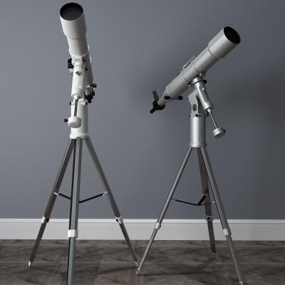 现代望远镜3D模型【ID:431344459】