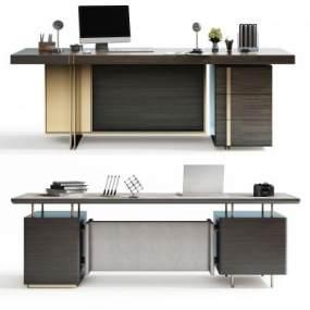 现代办公桌3D模型【ID:944450179】