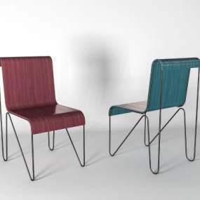 现代单椅3D模型【ID:734984167】