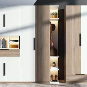 现代衣柜3D模型【ID:149246492】