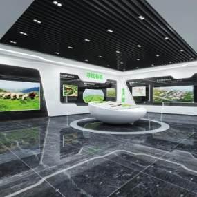 现代科技展厅3D模型【ID:949124747】