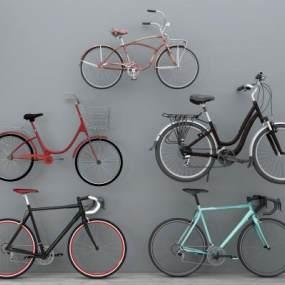 现代自行车3D模型【ID:434945668】