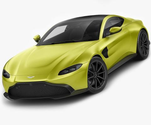 現代阿斯頓馬丁轎跑車3D模型【ID:445726731】