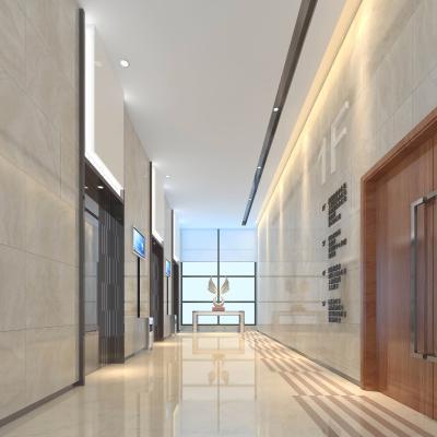 现代公司电梯间3D模型【ID:934817564】