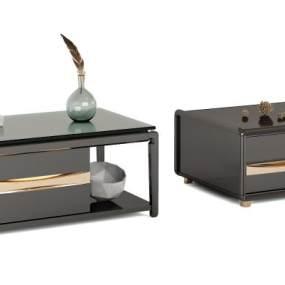 现代沙发茶几 3D模型【ID:640789801】