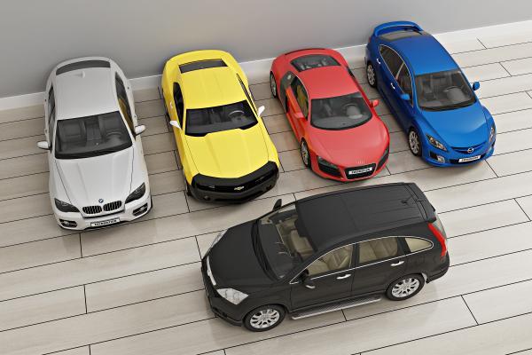 现代私家车3D模型【ID:442383768】