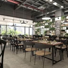 工业风西餐厅3D快三追号倍投计划表【ID:634780223】