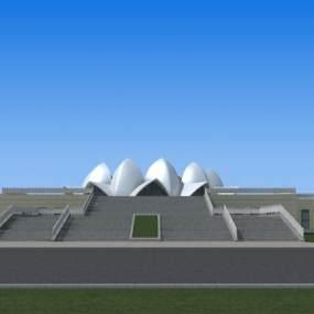 现代建筑3D模型【ID:233068161】