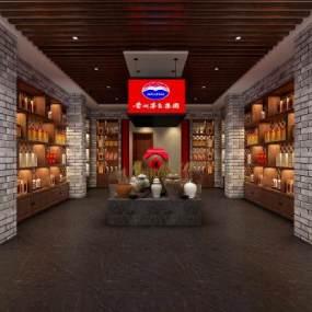 新中式古井酒窖展厅365彩票【ID:935223781】