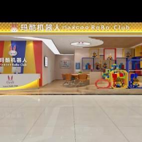 现代专卖店3D模型【ID:931516835】