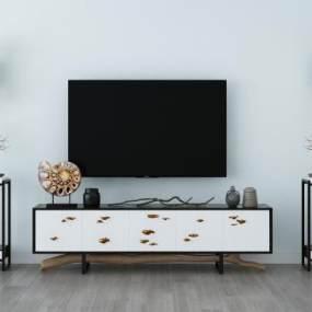 现代电视柜3D模型【ID:937133901】