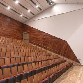现代会议室3D模型【ID:951040170】