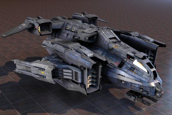 宇宙飞船3D模型【ID:440629953】