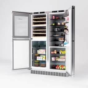 德国LIEBHERR冰箱 3D模型【ID:239371873】