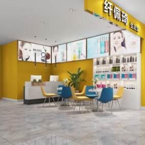 現代風格生活館3D模型【ID:952331826】