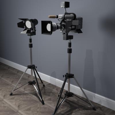 現代照相機3D模型【ID:431320523】