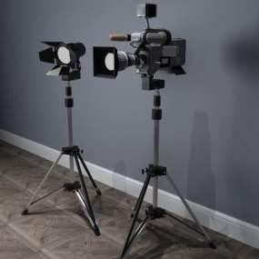 现代照相机3D模型【ID:431320523】