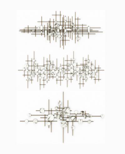 现代墙饰挂件3D模型【ID:250650724】