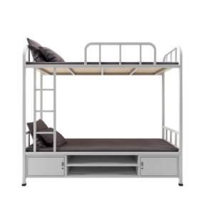 现代钢制双层床模型3D模型【ID:844180758】