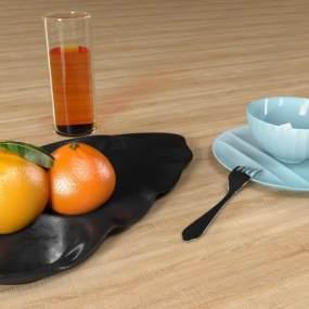 餐具盘子模型3D模型【ID:232786808】