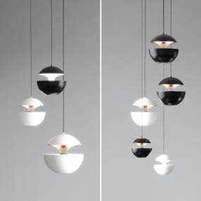 現代輕奢吊燈3D模型【ID:743665884】