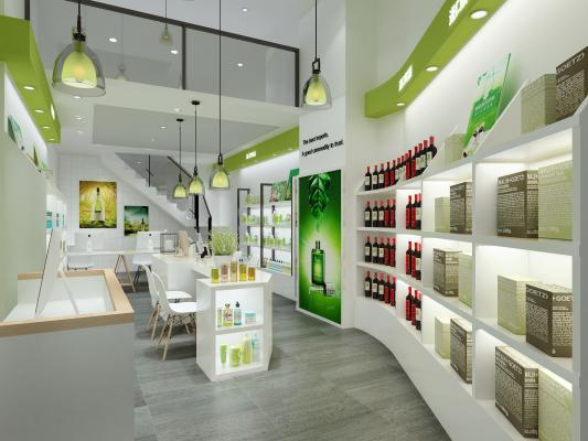 现代进口商品化妆品店