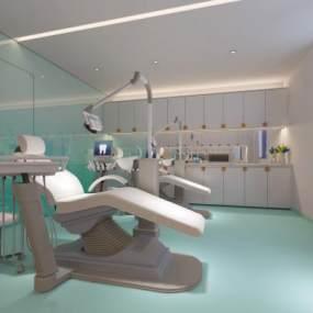 现代牙医室3D模型【ID:934808772】