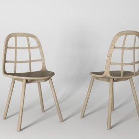 现代单椅3D模型【ID:735777115】