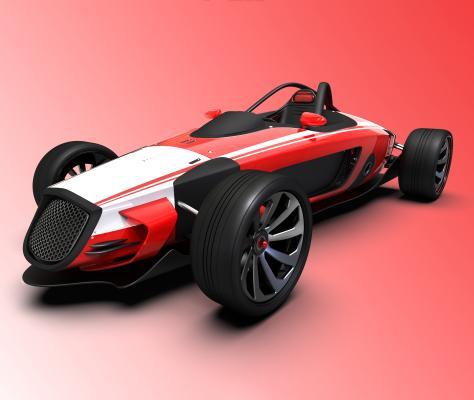 賽車3D模型【ID:441406773】