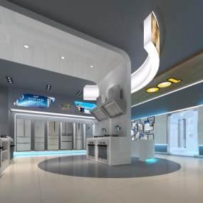 现代家电展厅3D模型【ID:934789741】