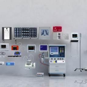 现代医疗设备3D模型【ID:932344708】