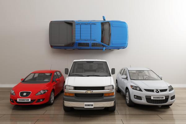 现代私家车3D模型【ID:442261787】