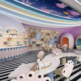 現代兒童幼兒園3D模型【ID:947326806】