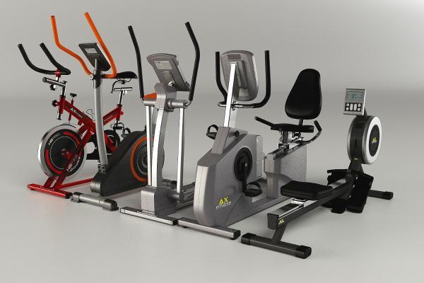 健身器材3D模型【ID:341380819】