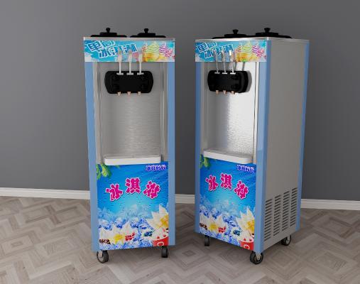 现代冰激凌机3D模型【ID:231069846】