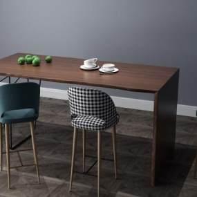 餐桌3D模型【ID:933491205】