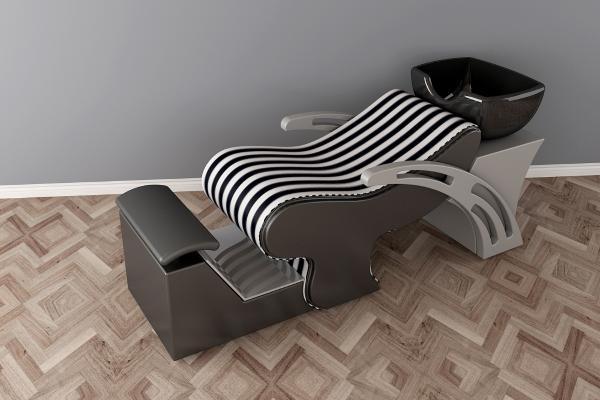 現代洗頭床3D模型【ID:431069086】