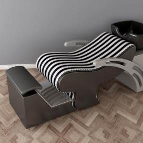 现代洗头床3D模型【ID:431069086】