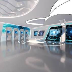现代科技展厅3D模型【ID:953137766】