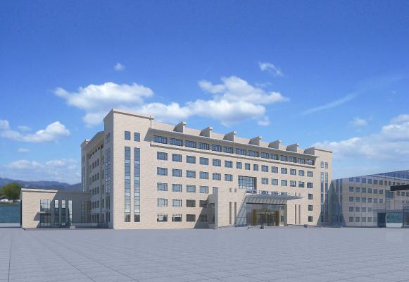 办公楼3D模型【ID:142574952】